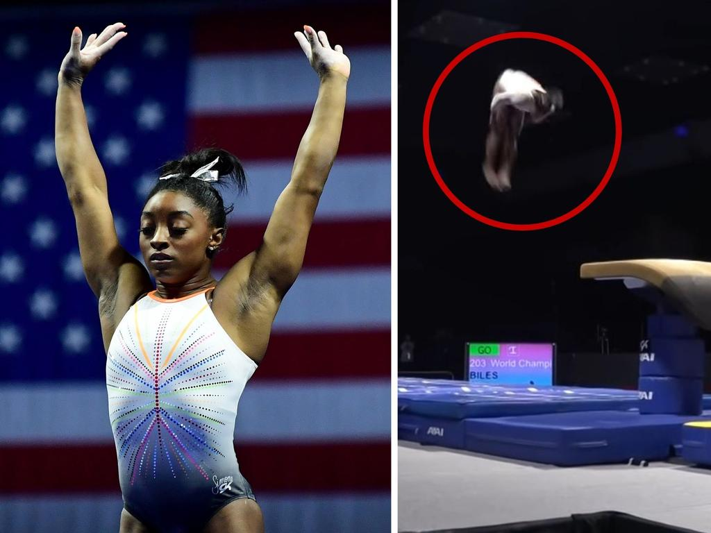 Simone Biles is one of the greatest ever athletes.