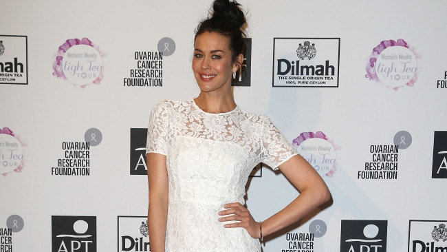Red carpet queen. Megan at the Women's Weekly high tea held at Crown Casino, Melbourne. Photo: Splash News