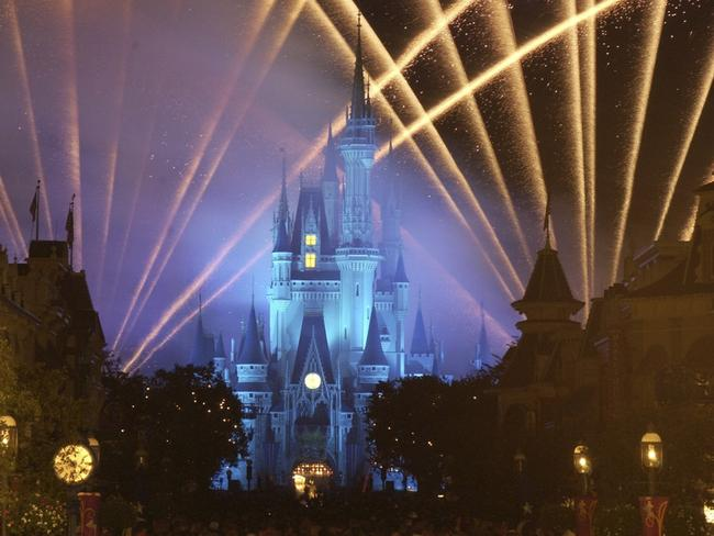 DisneyWorld, Florida was the scene of a grisly discovery of a body in a burnt-out car. Picture: Disney
