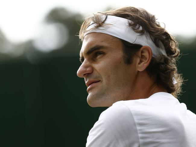 Roger Federer had a smooth run to the final.