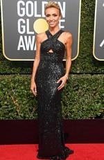 TV personality Giuliana Rancic attends The 75th Annual Golden Globe Awards at The Beverly Hilton Hotel on January 7, 2018 in Beverly Hills, California. Picture: Frazer Harrison/Getty Images/AFP