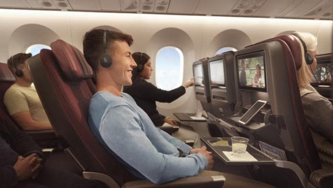 More than 22 million hours of in-flight entertainment was viewed in the air on Qantas this year.