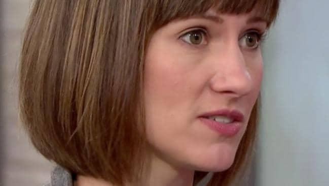 Rachel Crooks on Megyn Kelly's show. Pic: NBC