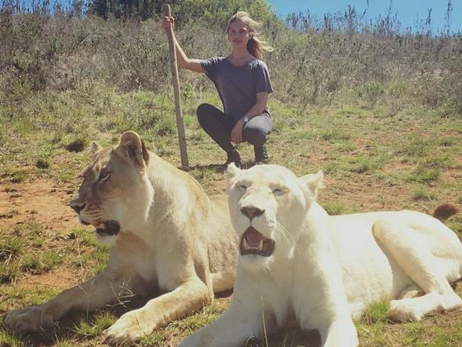 Melissa Cohen hails from South Africa. Picture: Facebook