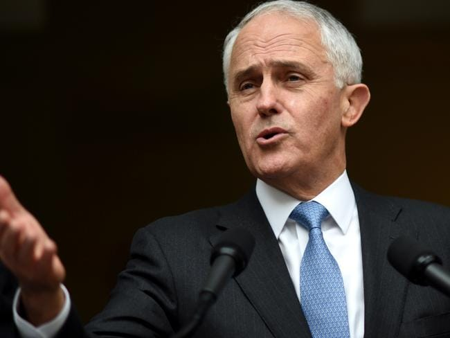 Prime Minister Malcolm Turnbull has previously said he would consider having truth in advertising laws extended to cover political advertising. Picture: Lukas Coch/AAP