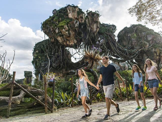 The World of Avatar, Walt Disney World Resort, Florida. Picture: Walt Disney World