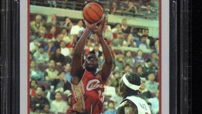 Nike Lebron James Basketball Trading Cards For Sale Ebay
