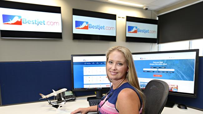 Rachel James at Bestjet.