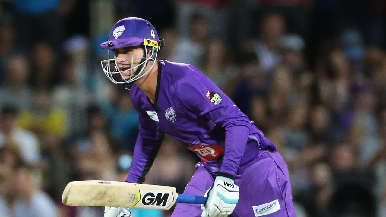 Alex Hales during one of his previous BBL stints for Hobart.