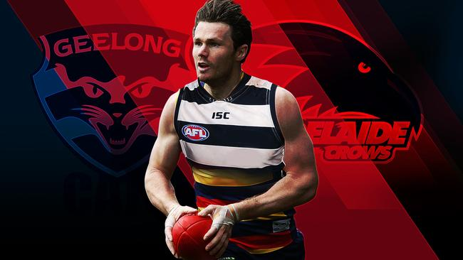 Patrick Dangerfield faces his old side in Friday night's preliminary final.
