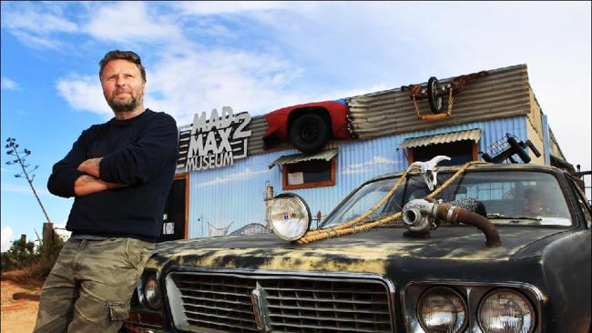 Fan ... Adrian Bennett, who moved from the United Kingdom to Silverton with his family to establish the Mad Max 2 museum.