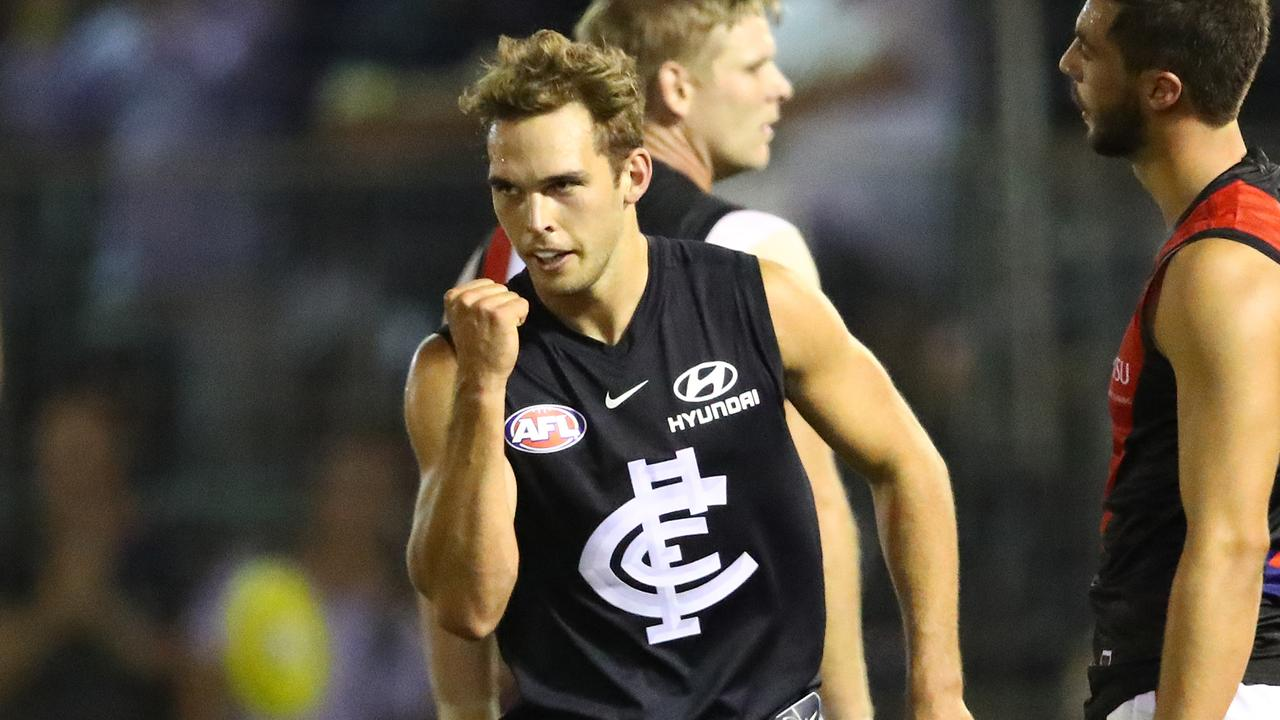 David Cuningham is one of Carlton's most improved players.