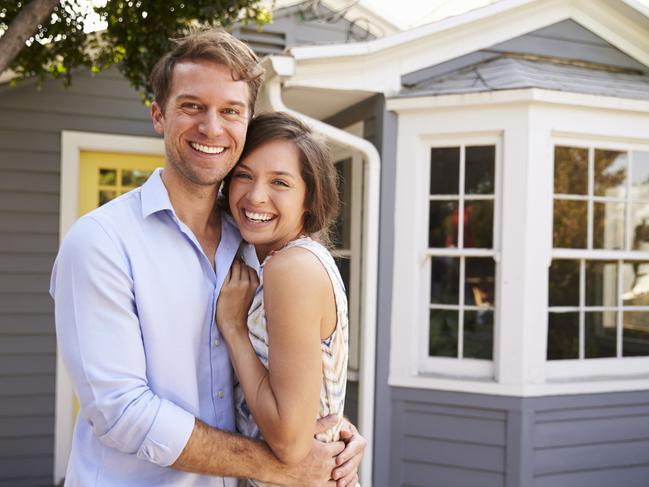The Coalition will offer first-home buyers some assistance, making a five per cent deposit a 20 per cent deposit. Picture: iStock.
