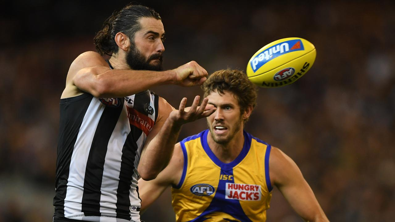 Brodie Grundy of the Magpies has smashed out two massive scores after a let down in Round 1 — can he go large again in SuperCoach in Round 4?