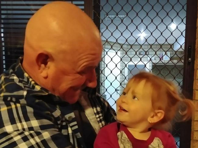 Western Australia grandfather Scott McCloy is still in limbo waiting to see what his best option is for spinal surgery after having problems accessing his super early. Picture: Supplied