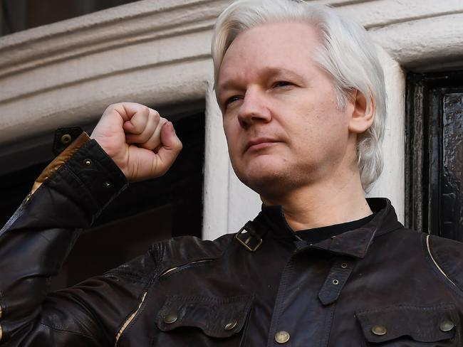WikiLeaks founder Julian Assange wants the Turnbull Government to do more to help his case. Picture: AFP/Justin Tallis