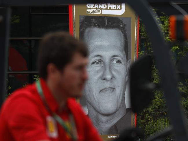 Michael Schumacher casts a wide shadow.