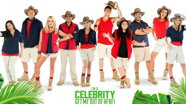 This year's I'm a Celeb contestants.