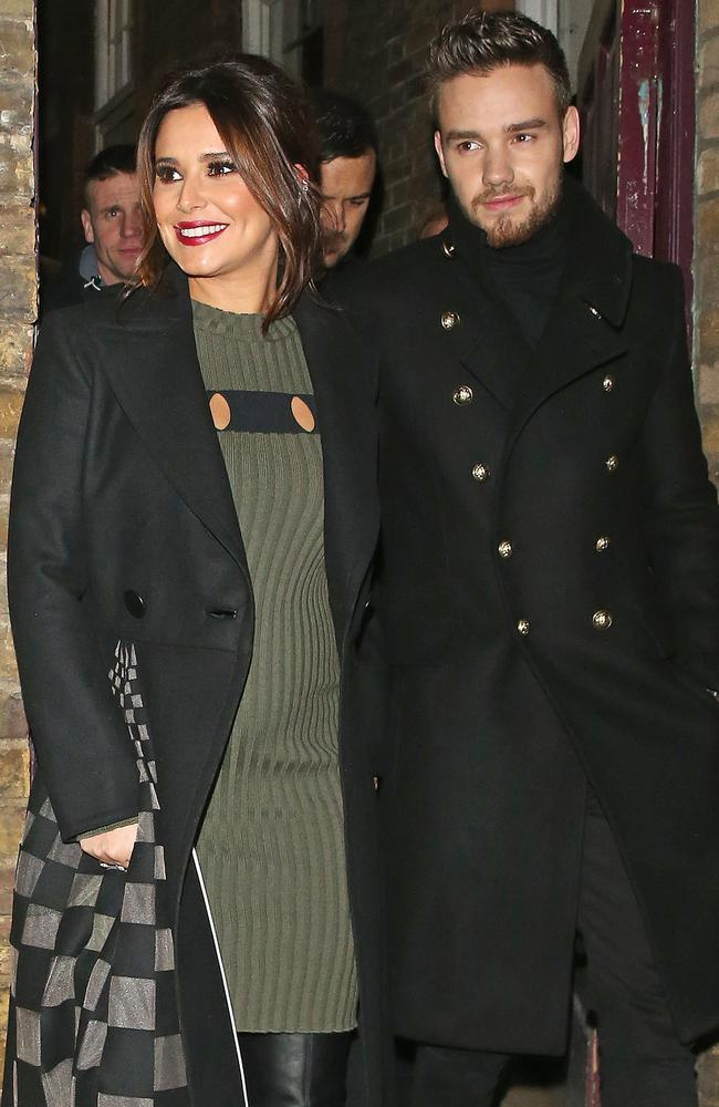 Cheryl Cole and Liam Payne attend the Quintessentially Foundation's charity concert in London.