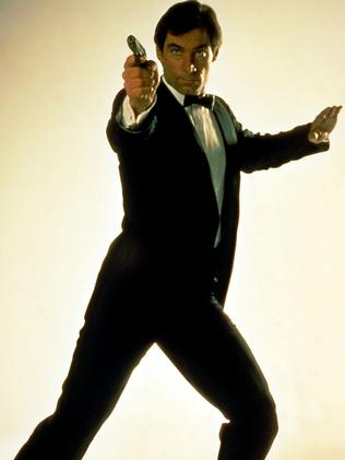 Timothy Dalton took over as Bond after Roger Moore. Picture: Supplied