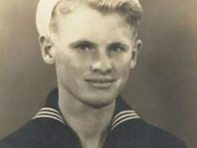 James Dempsey served in the Second World War. Picture: Supplied.