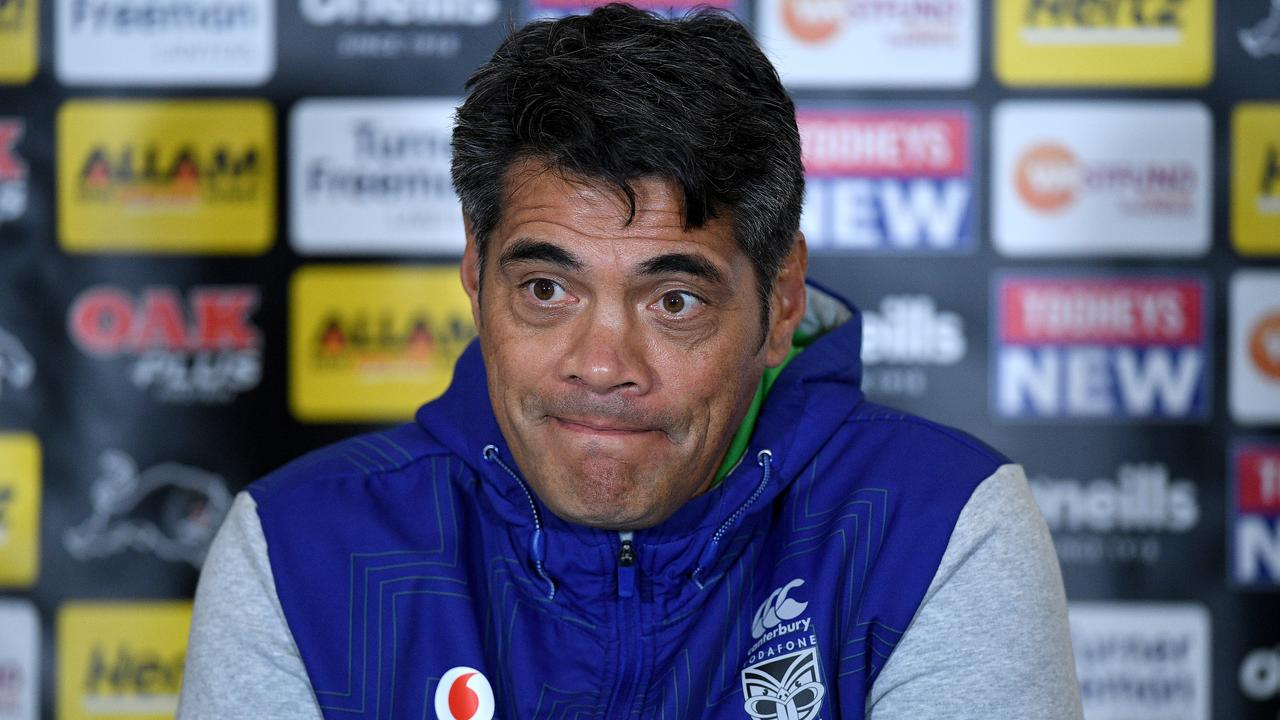 Stephen Kearney was sacked on Saturday. (AAP Image/Dan Himbrechts)