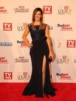 Gorgi Coghlan on the red carpet at the 2015 Logie Awards at Crown Casino in Melbourne. Picture: Tim Carrafa