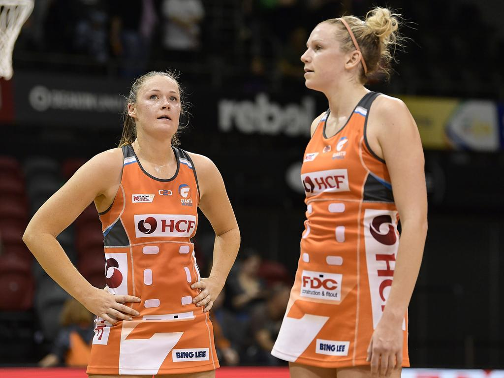 Super Netball Major Semi Final - Giants Netball v West Coast Fever