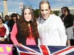 Is that Kate and Wills in the crowd at Elizabeth? Picture: Simon Cross