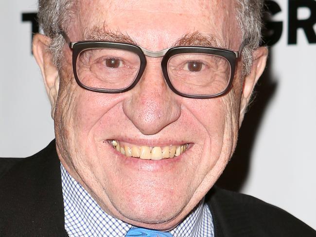 Lawyer Alan Dershowitz. Picture: Getty