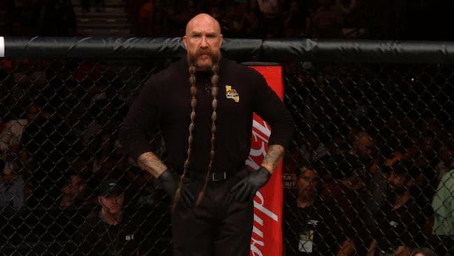 Mike Beltran has the UFC's most eye-catching beard.