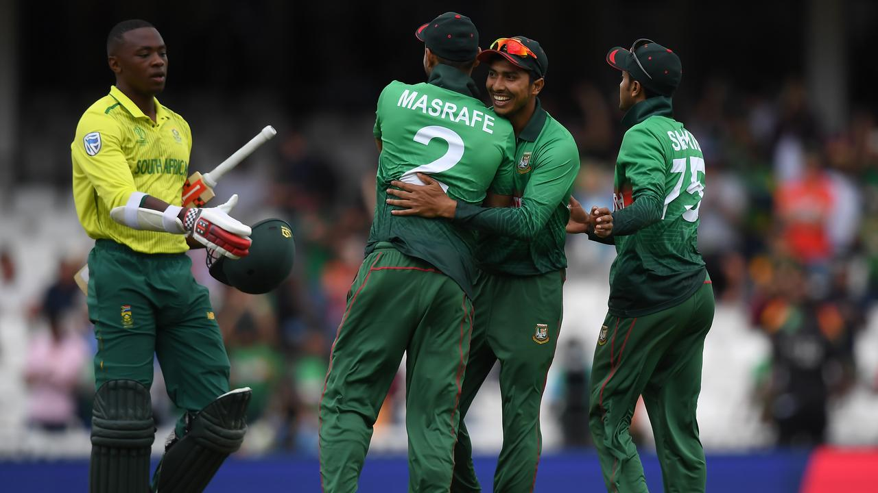 Bangladesh has already made a statement at this year's World Cup.