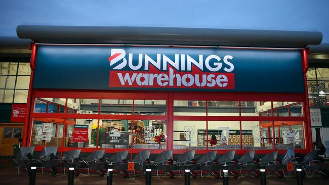 A UK Bunnings store just outside London. The chain now has 24 in the UK. Picture: Mega.