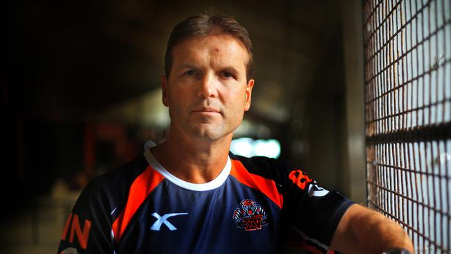Wests Tigers Coach Mick Potter at Concord Oval.