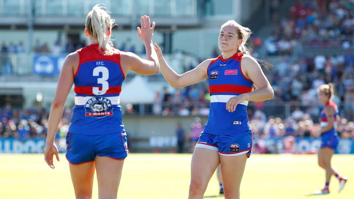 'Massive relief': Western Bulldogs' No. 1 pick Isabel Huntington cleared of ACL damage