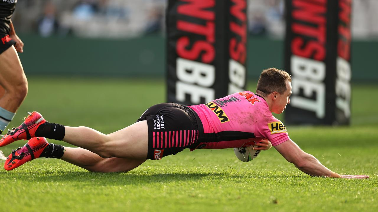 Penrith's Dylan Edwards is one of a number of options Panthers have at fullback.