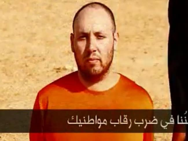 Steven Sotloff, one of the five Western hostages murdered on video.