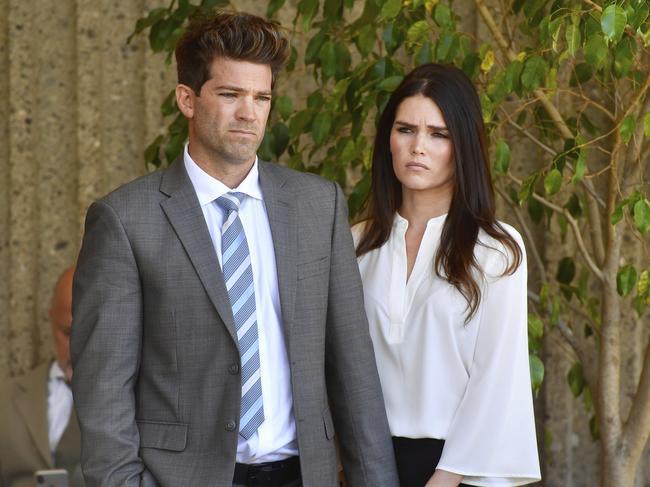 The pair had their bail raised to $1 million each. Picture: Paul Bersebach/The Orange County Register via AP
