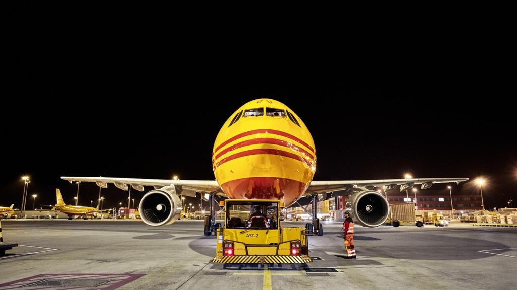 DHL Global Forwarding Australia Air freight network. Picture: Supplied