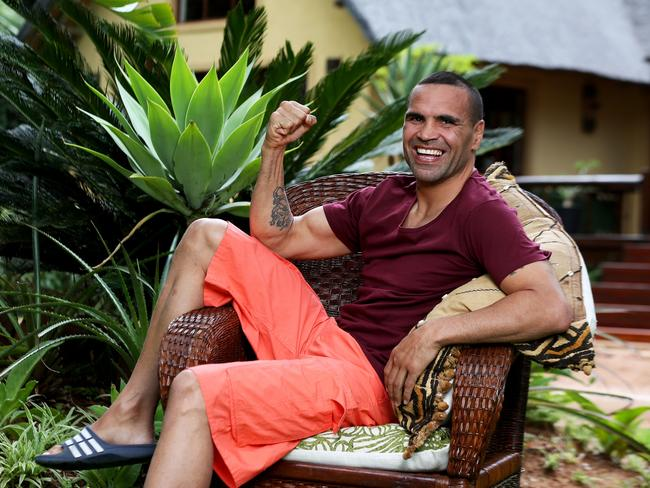 Anthony Mundine will appear on I'm A Celebrity Get Me Out Of Here! Season 4. Picture: Nigel Wright/Network Ten