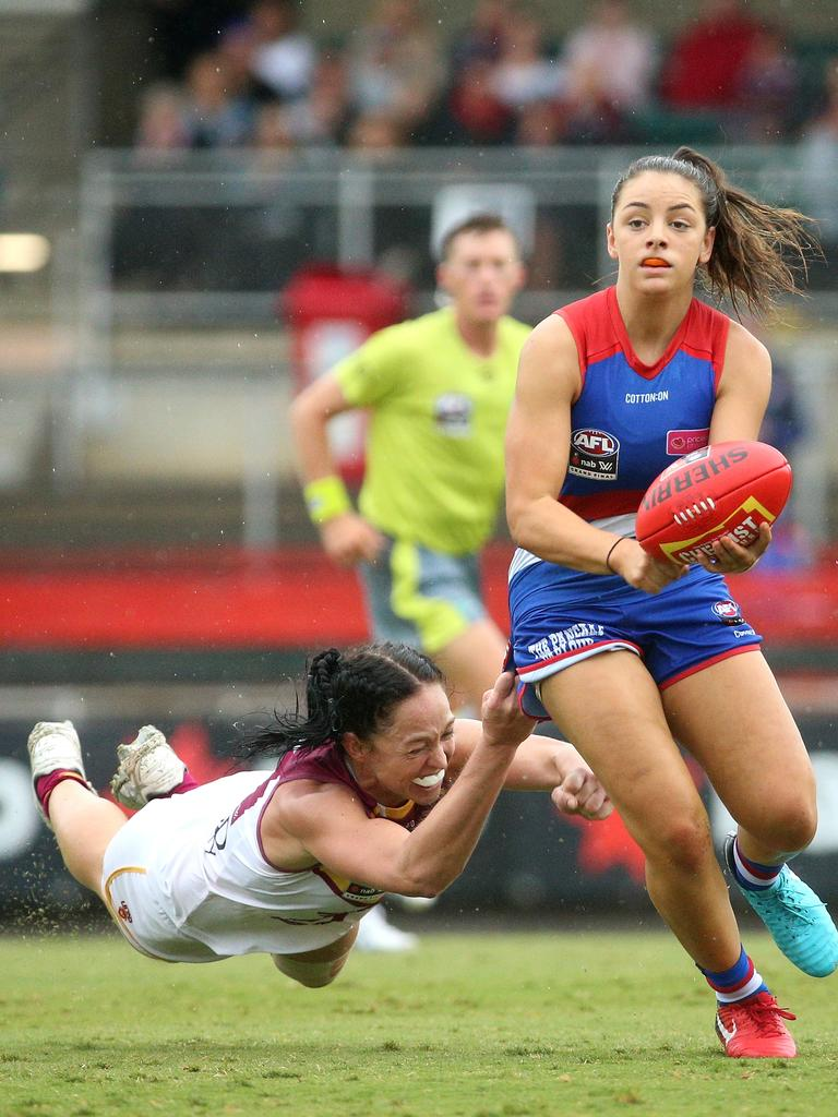 Conti was best on ground in the AFLW grand final. Picture: AAP