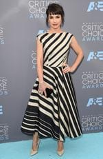 Constance Zimmer attends the 21st Annual Critics' Choice Awards on January 17, 2016 in California. Picture: AFP