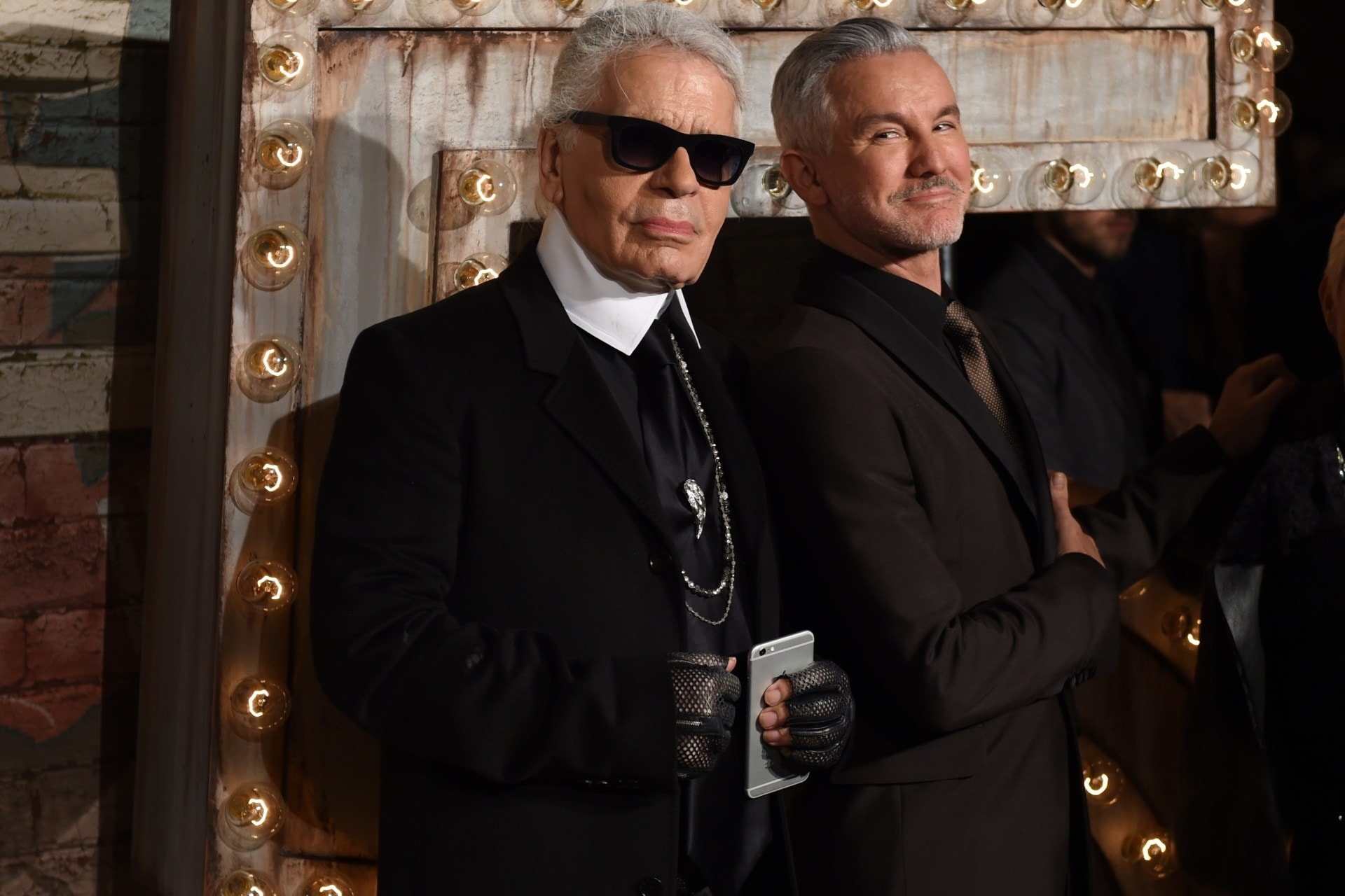 Karl Lagerfeld and Baz Luhrmann: in conversation from Vogue Australia's December 2003 issue