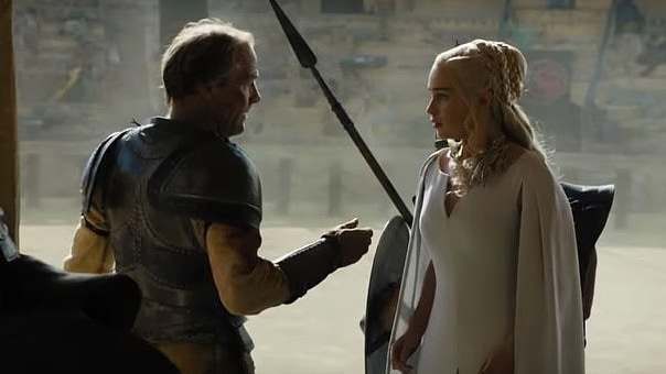 Ser Jorah would have given Daenerys Greyscale after one awkward gaffe