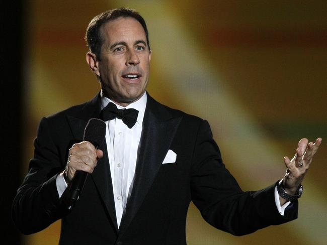 Keeping it clean … Comedy icon Jerry Seinfeld. Picture: AP Photo/Charles Rex Arbogast