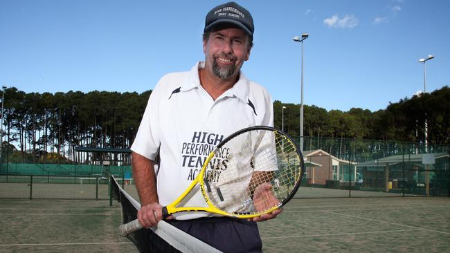 Sam Stosur's junior coach Nick Watkins in 2011.