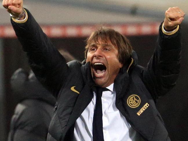 Inter coach Antonio Conte is a thorough tactician.