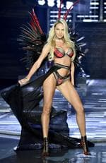 Candice Swanepoel walks the runway during the 2017 Victoria's Secret Fashion Show In Shanghai at Mercedes-Benz Arena on November 20, 2017 in Shanghai, China. Picture: Frazer Harrison/Getty Images for Victoria's Secret