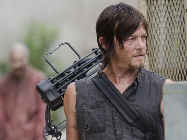 Addictive ... Daryl Dixon (Norman Reedus) returns in The Walking Dead. Picture: Supplied