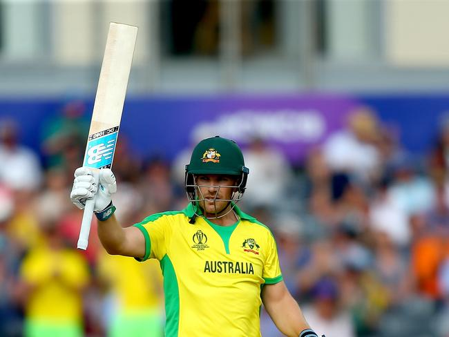 Finch has hit a rich vein of form.
